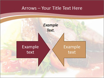 Meat Dish PowerPoint Template - Slide 90