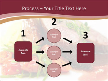 Meat Dish PowerPoint Template - Slide 92