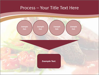 Meat Dish PowerPoint Template - Slide 93