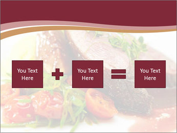 Meat Dish PowerPoint Template - Slide 95