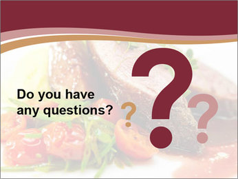 Meat Dish PowerPoint Template - Slide 96