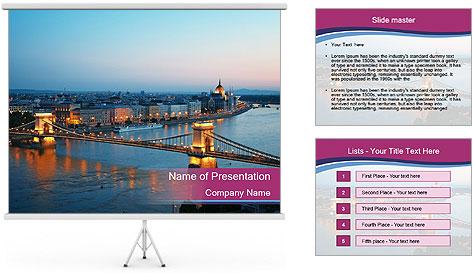 Hungary Travel Destination PowerPoint Template