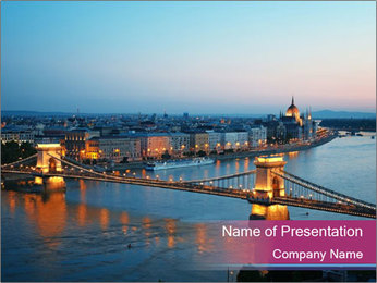 Hungary Travel Destination PowerPoint Templates - Slide 1