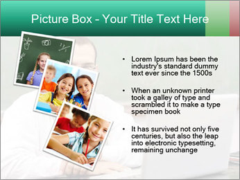 Positive School Teacher PowerPoint Templates - Slide 17