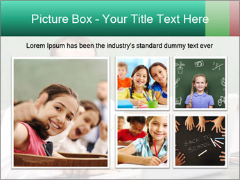 Positive School Teacher PowerPoint Template - Slide 19