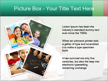 Positive School Teacher PowerPoint Template - Slide 23