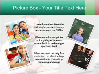 Positive School Teacher PowerPoint Template - Slide 24