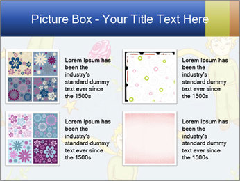 Little Prince Pattern PowerPoint Template - Slide 14