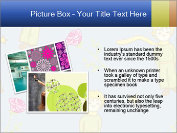 Little Prince Pattern PowerPoint Template - Slide 20