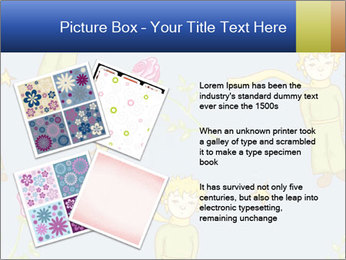 Little Prince Pattern PowerPoint Template - Slide 23