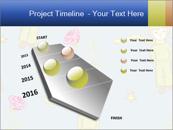 Little Prince Pattern PowerPoint Template - Slide 26