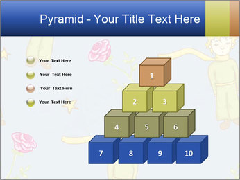 Little Prince Pattern PowerPoint Template - Slide 31
