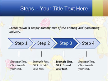 Little Prince Pattern PowerPoint Template - Slide 4