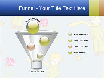 Little Prince Pattern PowerPoint Template - Slide 63