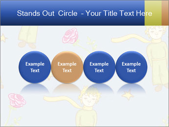 Little Prince Pattern PowerPoint Template - Slide 76