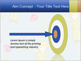 Little Prince Pattern PowerPoint Template - Slide 83