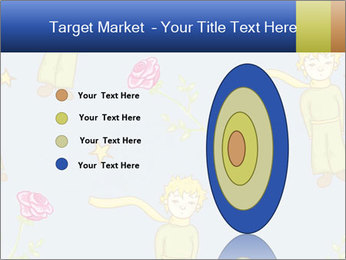 Little Prince Pattern PowerPoint Template - Slide 84