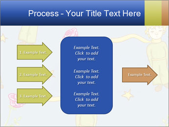 Little Prince Pattern PowerPoint Template - Slide 85