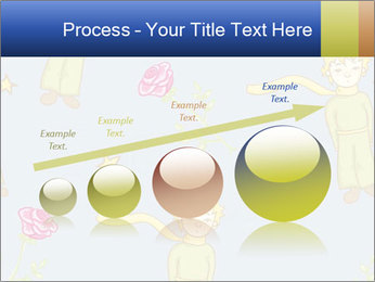 Little Prince Pattern PowerPoint Template - Slide 87