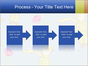 Little Prince Pattern PowerPoint Template - Slide 88