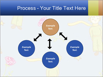 Little Prince Pattern PowerPoint Template - Slide 91