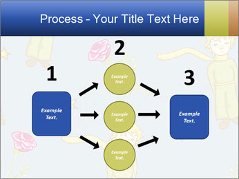Little Prince Pattern PowerPoint Template - Slide 92