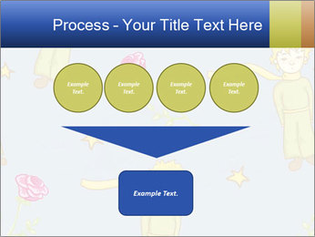 Little Prince Pattern PowerPoint Template - Slide 93