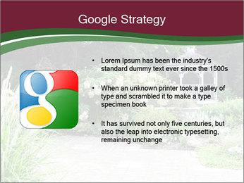 Kiosk In Garden PowerPoint Template - Slide 10