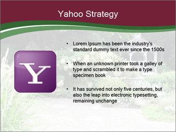 Kiosk In Garden PowerPoint Template - Slide 11