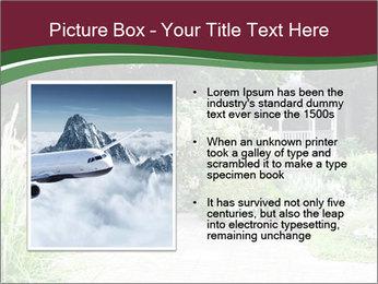 Kiosk In Garden PowerPoint Template - Slide 13