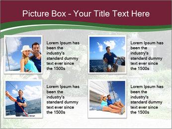 Kiosk In Garden PowerPoint Template - Slide 14