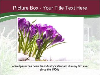 Kiosk In Garden PowerPoint Template - Slide 16