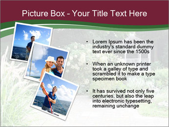 Kiosk In Garden PowerPoint Template - Slide 17