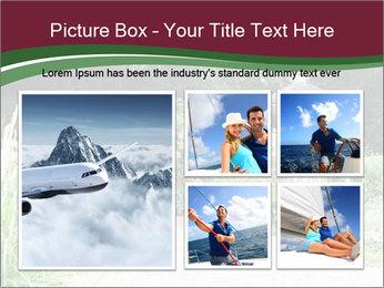 Kiosk In Garden PowerPoint Template - Slide 19