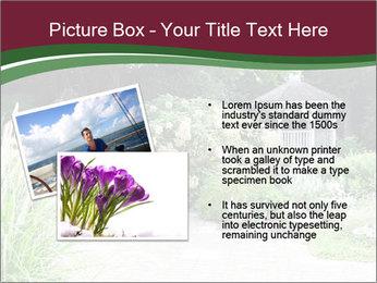 Kiosk In Garden PowerPoint Template - Slide 20