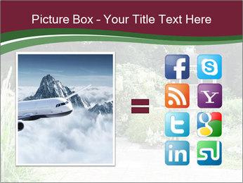 Kiosk In Garden PowerPoint Template - Slide 21