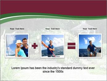 Kiosk In Garden PowerPoint Templates - Slide 22