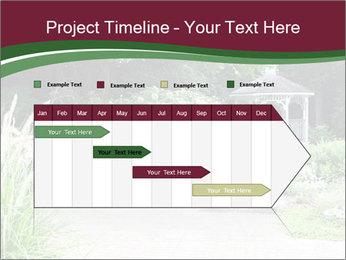 Kiosk In Garden PowerPoint Template - Slide 25