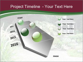 Kiosk In Garden PowerPoint Template - Slide 26