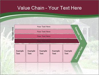Kiosk In Garden PowerPoint Template - Slide 27