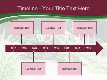 Kiosk In Garden PowerPoint Template - Slide 28