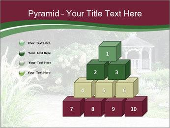 Kiosk In Garden PowerPoint Template - Slide 31