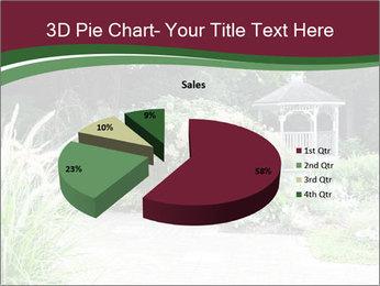 Kiosk In Garden PowerPoint Templates - Slide 35
