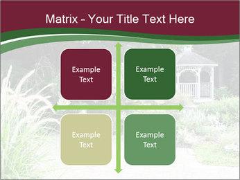 Kiosk In Garden PowerPoint Template - Slide 37