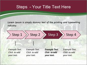 Kiosk In Garden PowerPoint Templates - Slide 4