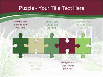 Kiosk In Garden PowerPoint Template - Slide 41