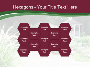 Kiosk In Garden PowerPoint Template - Slide 44