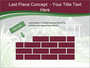 Kiosk In Garden PowerPoint Template - Slide 46