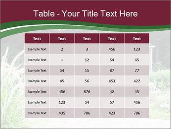 Kiosk In Garden PowerPoint Template - Slide 55