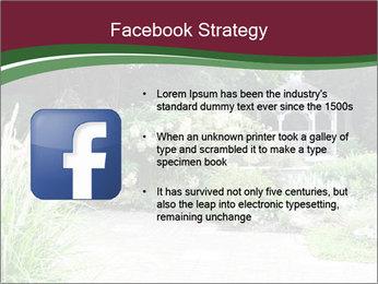 Kiosk In Garden PowerPoint Template - Slide 6